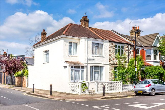 Thumbnail End terrace house for sale in Sirdar Road, London