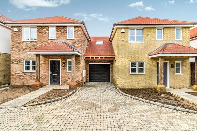 Thumbnail Semi-detached house for sale in Beckett Close Romany Road, Gillingham