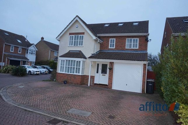 Thumbnail Detached house to rent in Schoolfields, Kingswood, Letchworth Garden City, Hertfordshire
