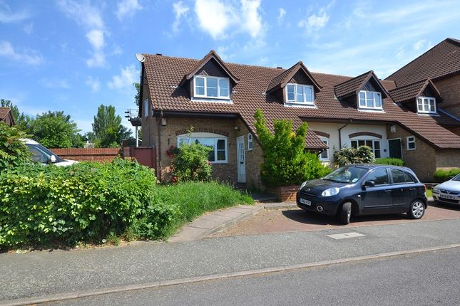 End terrace house for sale in Orchard Grove, London, Greater London.