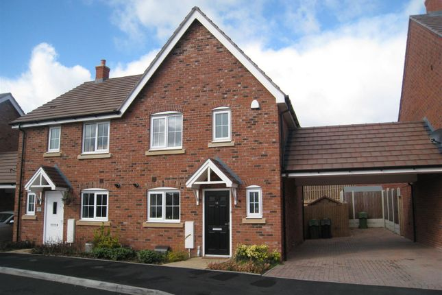 Thumbnail Semi-detached house to rent in Cowslip Close, Catshill, Bromsgrove