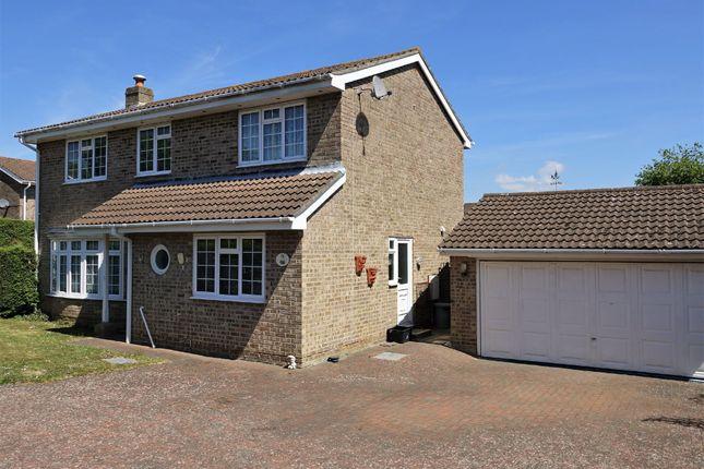 Thumbnail Detached house for sale in Hursley Drive, Blackfield, Southampton