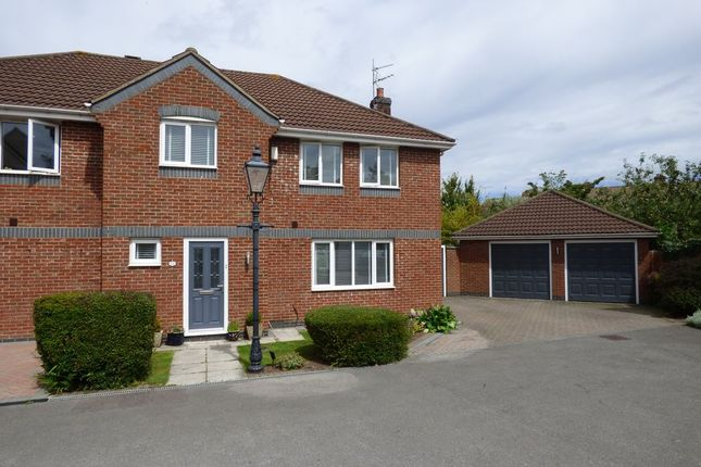 Thumbnail Semi-detached house for sale in Prospect Close, Winterbourne Down, Bristol