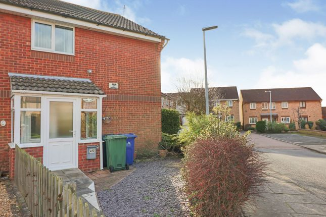 Thumbnail End terrace house for sale in Belleisle Road, Laceby Acres Grimsby