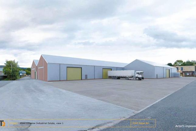 Thumbnail Light industrial to let in Unit 17/18, Etherow Industrial Estate, Woolley Bridge Road, Glossop