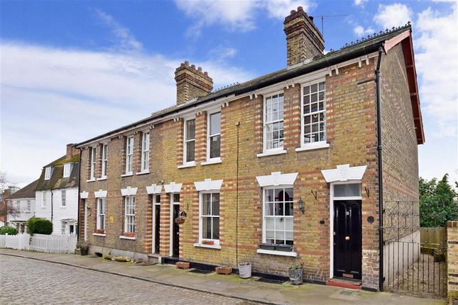 Thumbnail End terrace house for sale in High Street, Upnor, Rochester, Kent