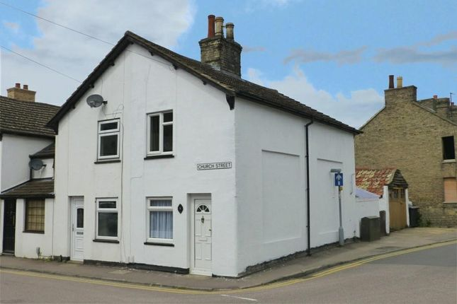 Thumbnail End terrace house for sale in Church Street, Biggleswade