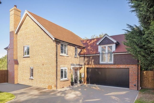 Thumbnail Detached house for sale in Manor Fields, London Road, Bidborough Borders