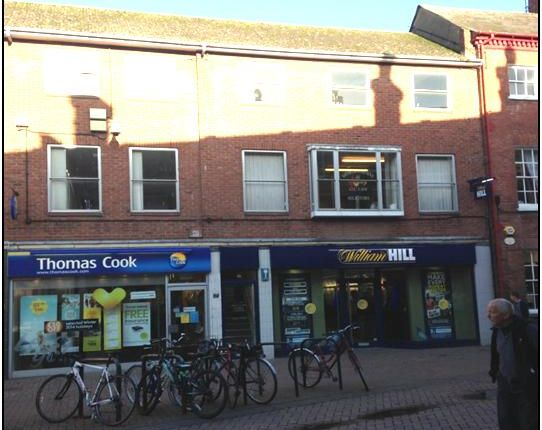 Retail premises to let in St. Peters Street, Hereford