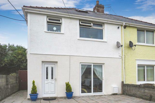 Thumbnail Semi-detached house for sale in Danygraig Terrace, Llanharan, Pontyclun