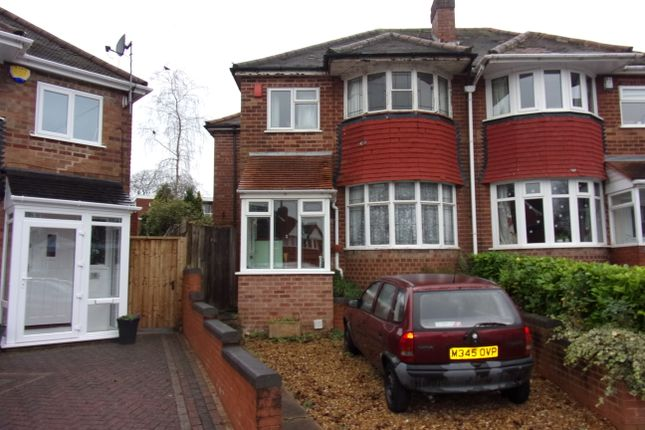 Thumbnail Semi-detached house to rent in Norbreck Close, Great Barr, Birmingham
