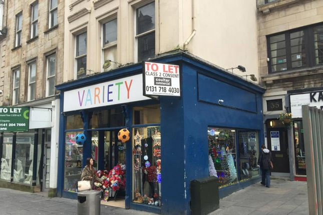 Thumbnail Retail premises to let in 33 High Street, Paisley, Renfrewshire