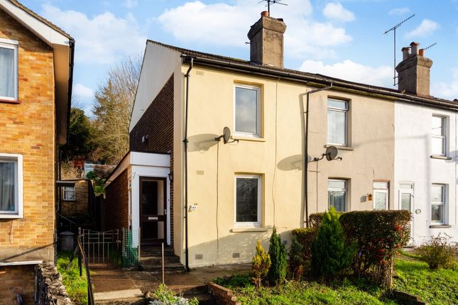 Thumbnail End terrace house to rent in Godstone Road, Kenley