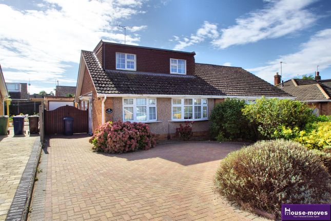 Thumbnail Semi-detached bungalow for sale in Hardy Road, Bishops Cleeve, Cheltenham