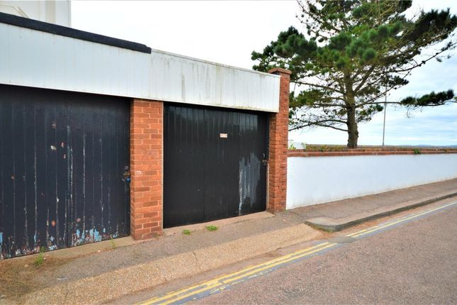 Garage of Morton Crescent, Exmouth, Devon EX8