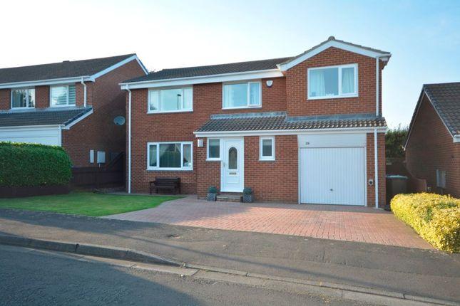 Thumbnail Detached house for sale in Ancroft Garth, High Shincliffe, Durham