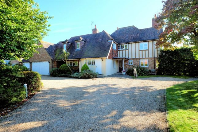 Thumbnail Detached house for sale in The Leas, Chestfield, Whitstable, Kent