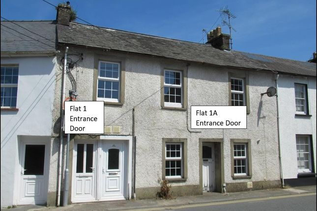 3 bed flat for sale in Hottipass Street, Fishguard SA65