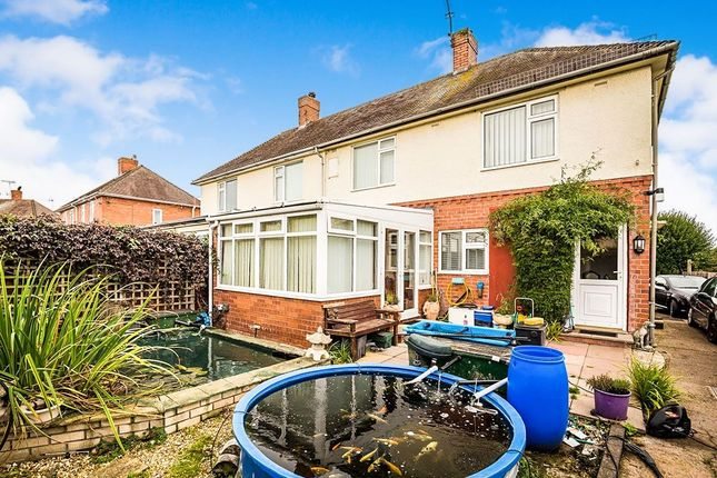 Thumbnail Semi-detached house for sale in Drenewydd, Park Hall, Oswestry
