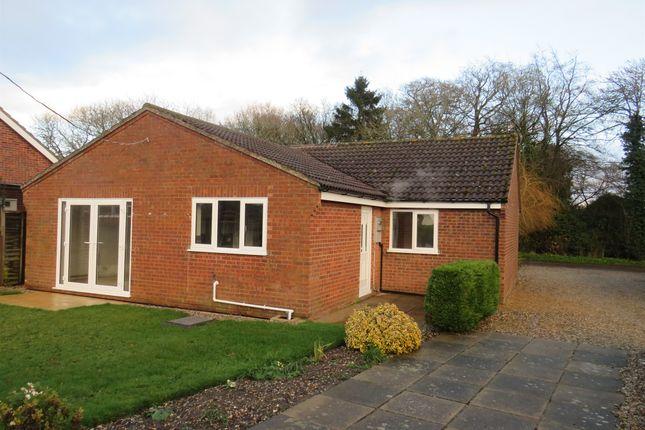 Thumbnail Detached bungalow for sale in Melton Road, Hindolveston, Dereham
