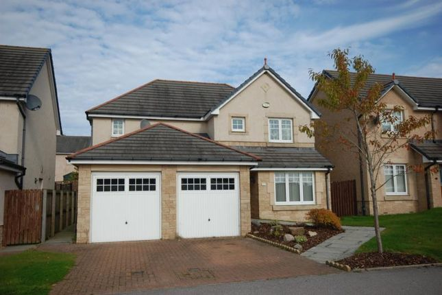 Thumbnail Detached house to rent in Canmore Gardens, Newmachar, Aberdeenshire