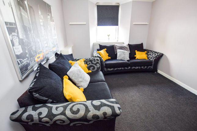 Living Room of Locks Street, Coatbridge ML5