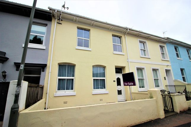 Thumbnail Town house for sale in Park Road, Torquay
