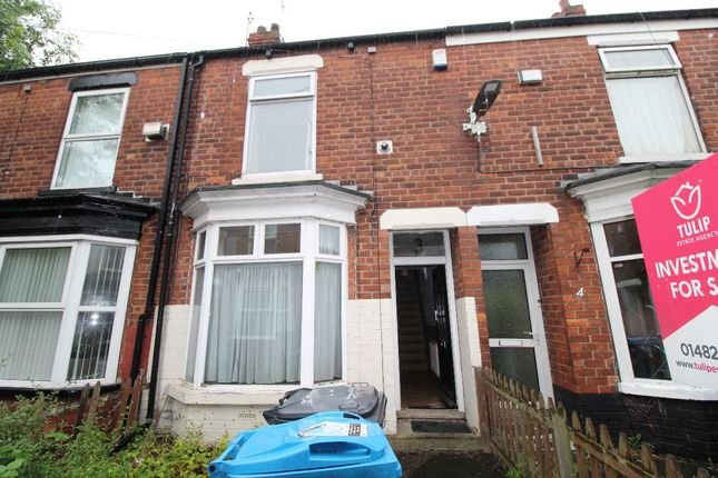 Thumbnail Terraced house to rent in Bethnal Green, Beverley Road, Hull