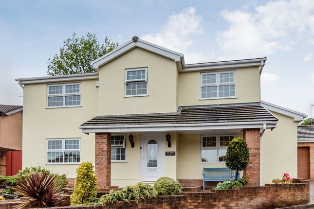 Thumbnail Detached house for sale in Llwynderw Close, Swansea