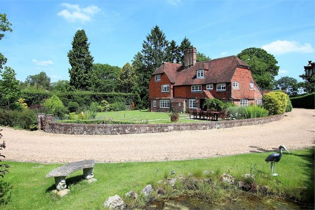Detached house for sale in The Old House, Hophurst Lane, Crawley Down, West Sussex