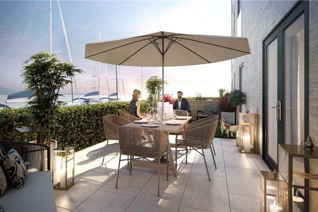 Thumbnail Flat for sale in Garden Apartment, The Moorings, Edinburgh Marina, Edinburgh