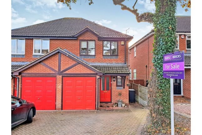 Thumbnail Semi-detached house for sale in Walkwood Road, Redditch