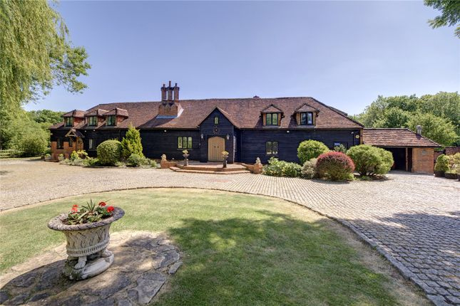 Thumbnail Barn conversion for sale in Tylers Hill Road, Ley Hill, Buckinghamshire