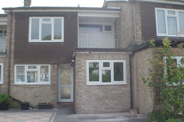 Thumbnail Terraced house to rent in Fiona Close, Winchester