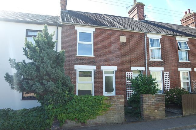 Thumbnail Terraced house to rent in Pound Road, Beccles
