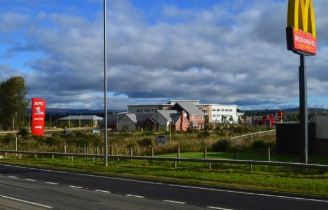 Thumbnail Land for sale in Orchardbank Business Park, Orchard Loan, Forfar