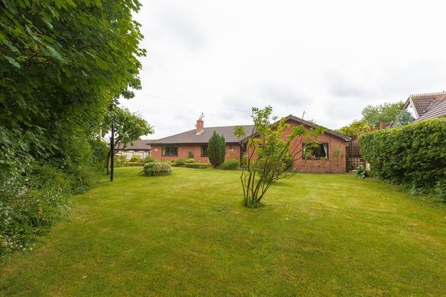 Thumbnail Detached bungalow for sale in Cocker Lane, Leyland
