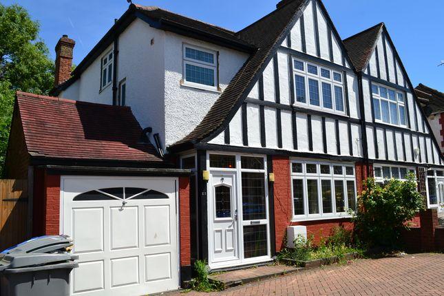 Thumbnail Semi-detached house to rent in Draycott, Harrow