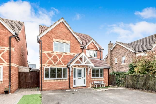 Thumbnail Detached house for sale in Fennel Drive, Biggleswade, Bedfordshire