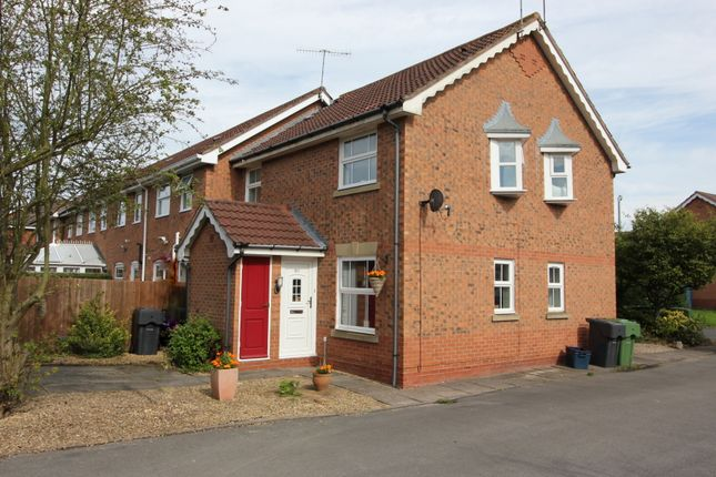 Thumbnail End terrace house for sale in Scaife Road, Aston Fields, Bromsgrove