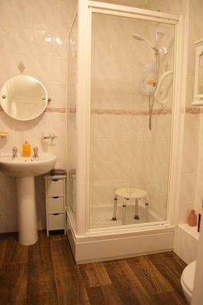 Shower Room of Upper Flat, Eastercraigs, 71, Ardbeg Road, Rothesay, Isle Of Bute PA20