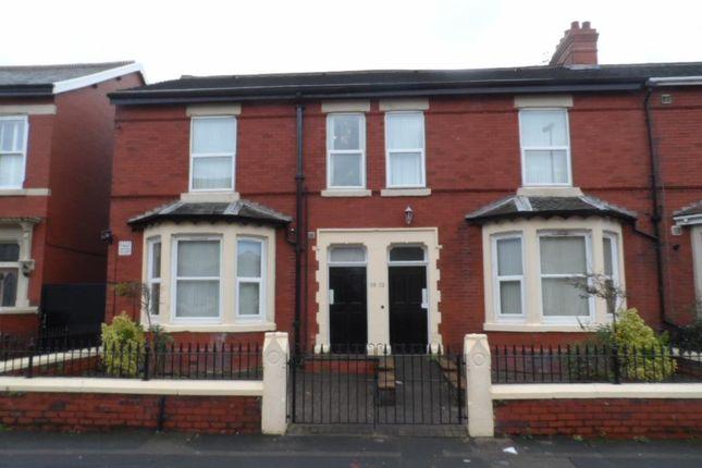 Thumbnail Flat to rent in Burlington Road, Blackpool