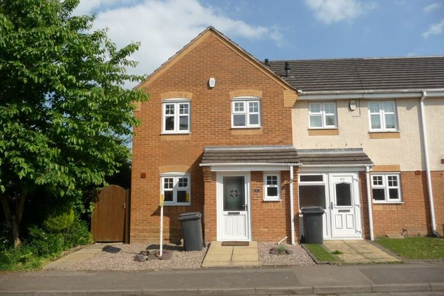 Thumbnail Semi-detached house to rent in Occupation Road, Albert Village, Swadlincote