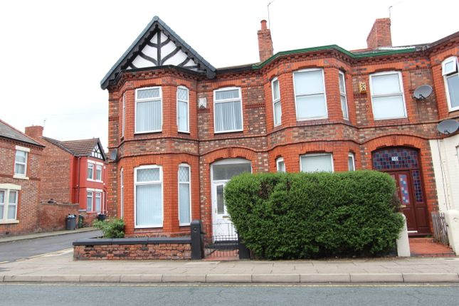 3 bedroom end terrace house to rent in Woodchurch Road, Prenton