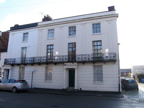 Thumbnail Flat to rent in Church Terrace, Leamington Spa