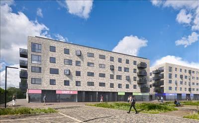 Thumbnail Retail premises to let in Hobson Square, Units 1-4, Great Kneighton, Cambridge, Cambridgeshire