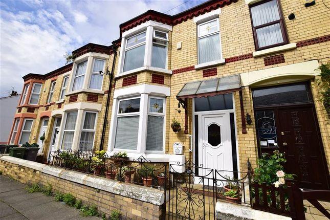 Thumbnail Terraced house for sale in York Road, Wallasey, Merseyside