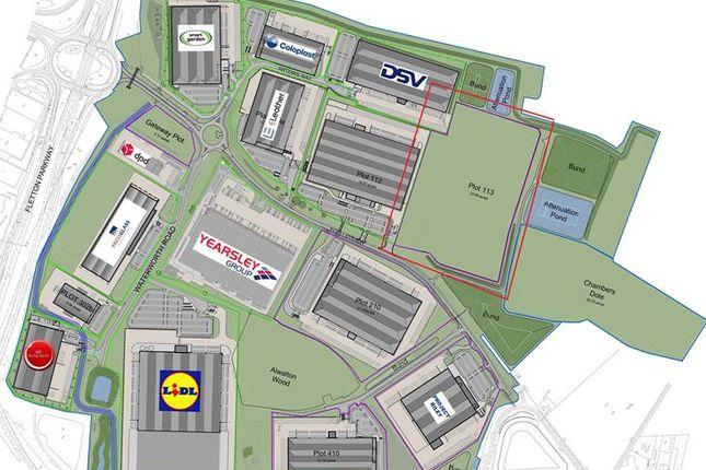 Warehouse to let in Plot 113 Gateway, Southgate Way, Orton Southgate, Peterborough