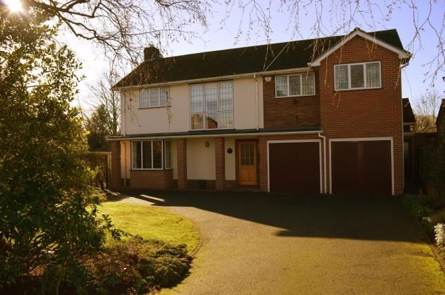 Thumbnail Detached house for sale in Stafford Road, Lichfield, Staffordshire