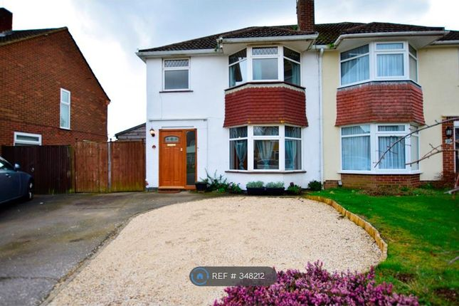 Thumbnail Semi-detached house to rent in Ravensbourne Drive, Woodley, Reading
